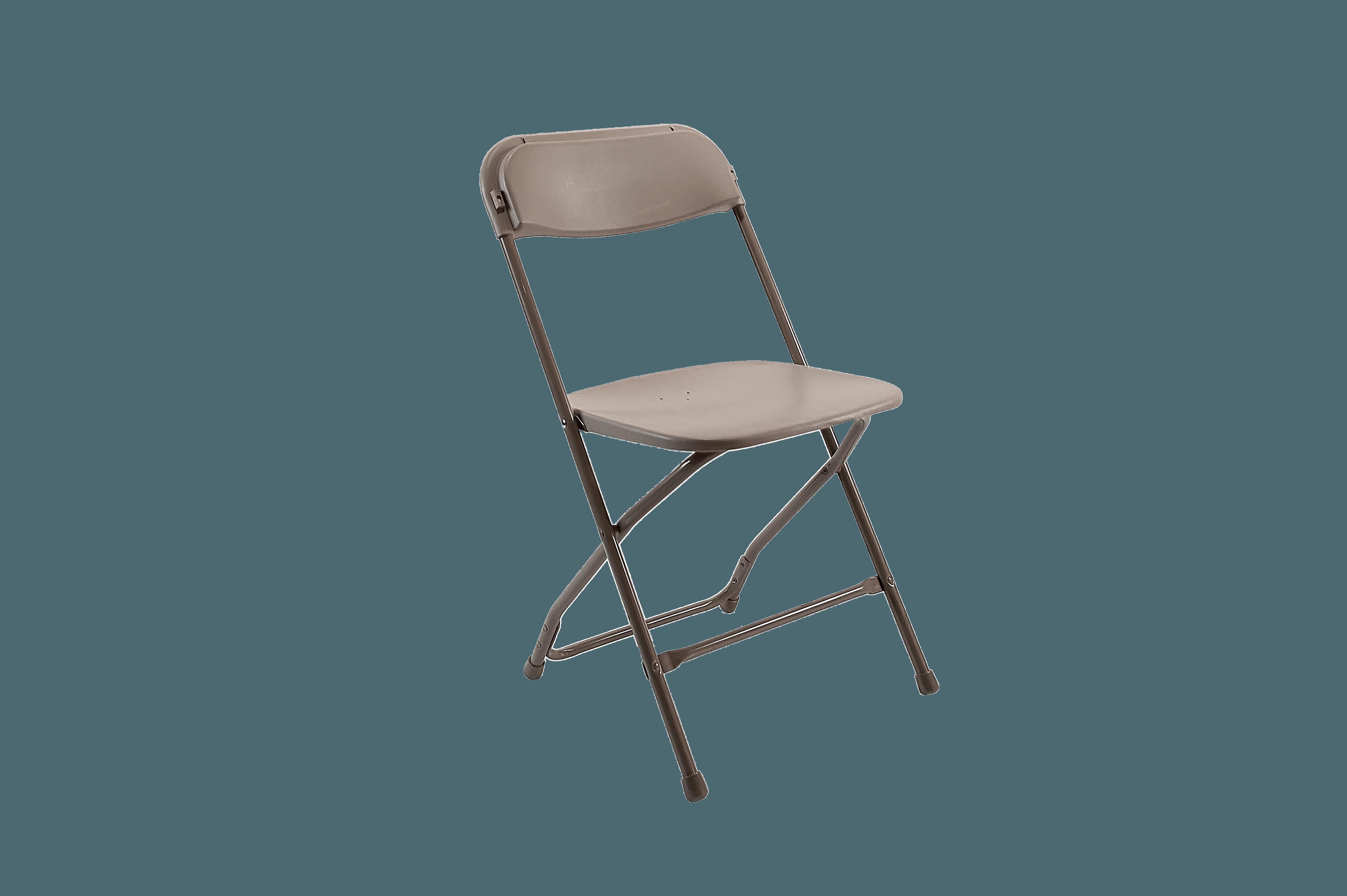 Bone Beige Folding Chair