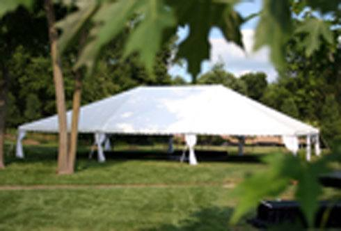 15 x 30 Frame Tent | A Classic Party Rental