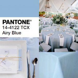 (1) Light Blue Poly