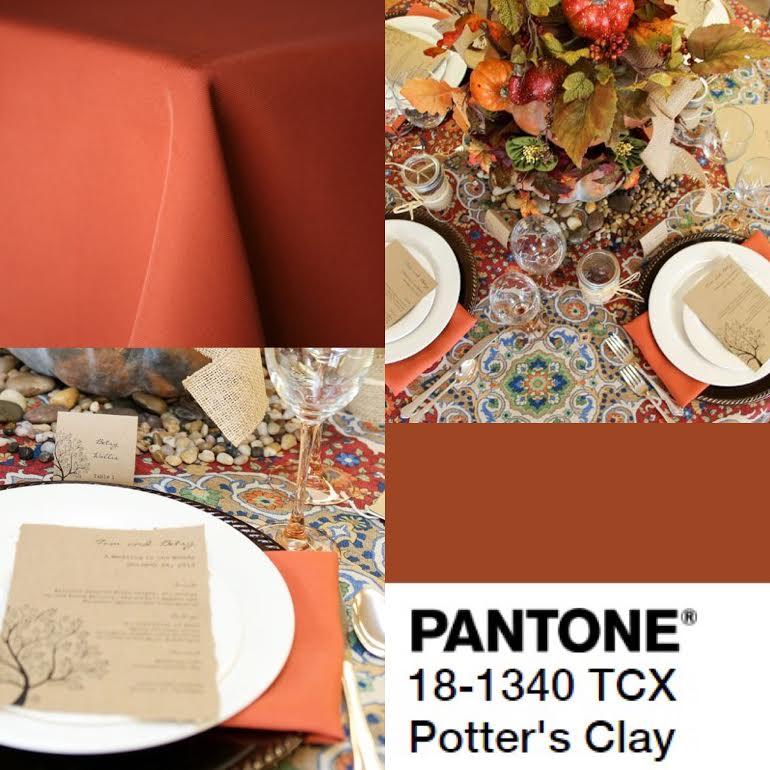 Fall 2016 Pantone Linen Colors